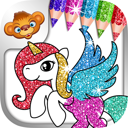 Coloring Games for Kids - Tashi - Colouring Book & Painting Game