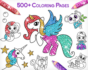 Coloring Games for Kids -Tashi