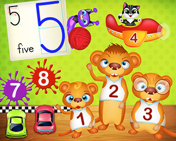 Numbers Pre-school Math Games - 123 Kids Fun Numbers
