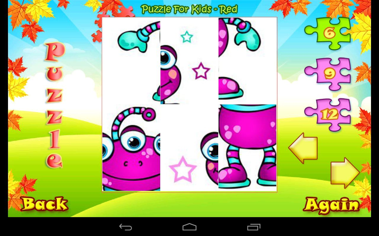 123 Kids Fun Puzzle Gold