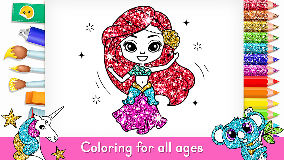 Tashi Coloring Book 123 Kids Fun Apps