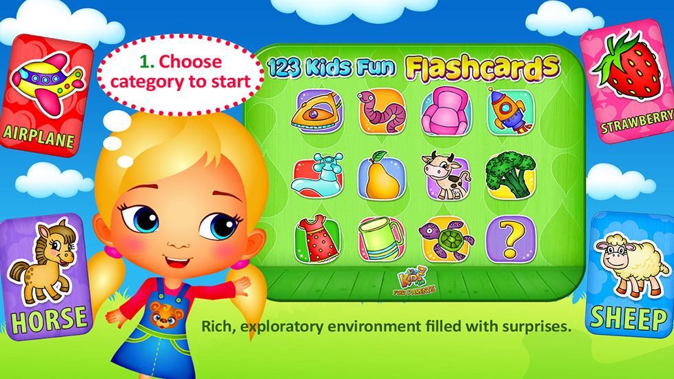 123 Kids Fun Flashcards