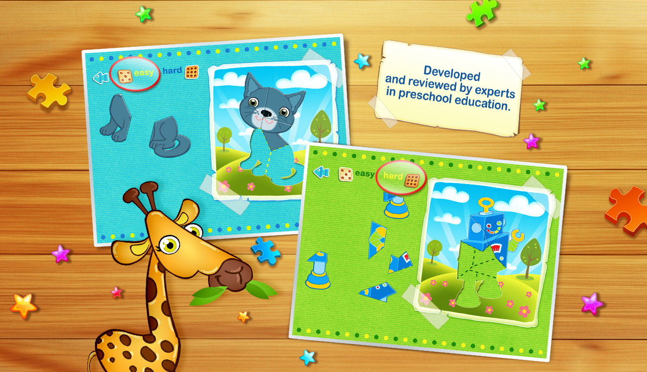 123 Kids Fun Animated Puzzle
