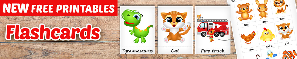 Free Printable Flashcards – Homeschooling.