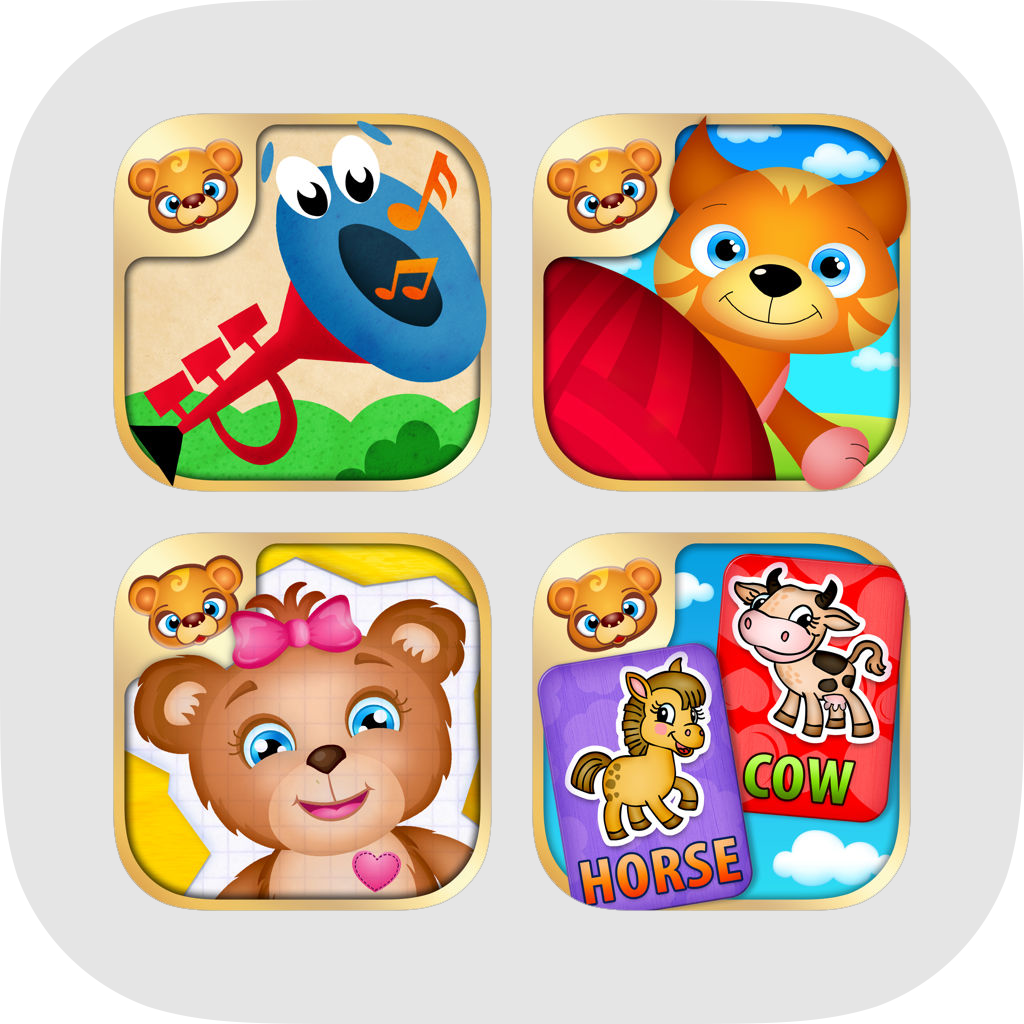 Toddlers Backpack - My First Games and Apps