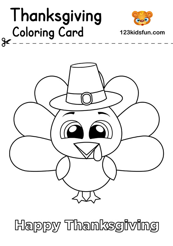 Free Thanksgiving Printables 123 Kids Fun Apps