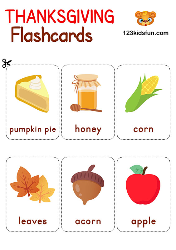 Flashcards Free Printables