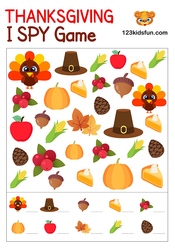 I Spy Game for Kids
