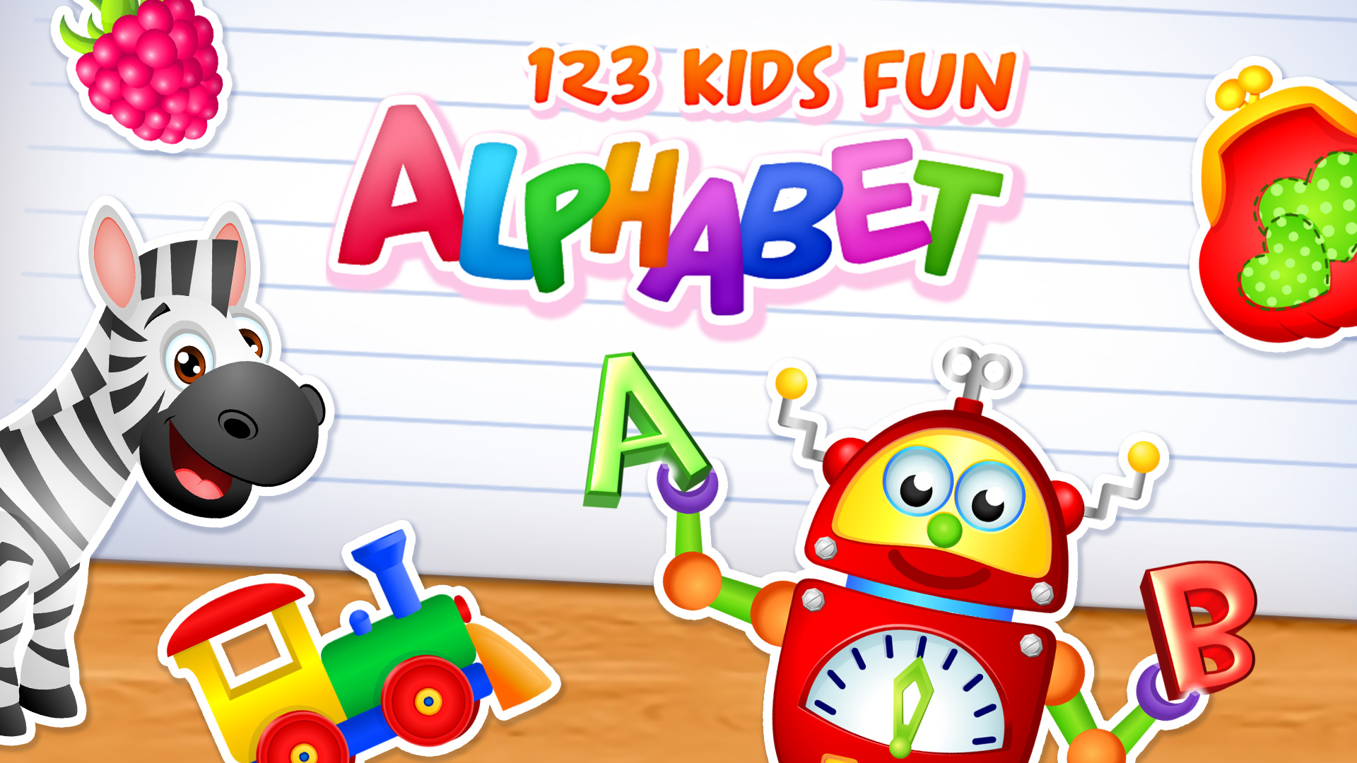 123 Kids Fun Alphabet