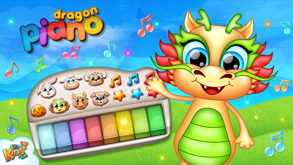 123 Kids Fun Dragon Piano
