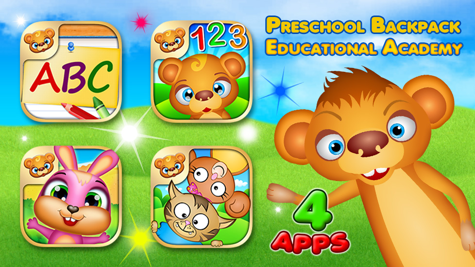 Preschool Backpack - Educational Academy