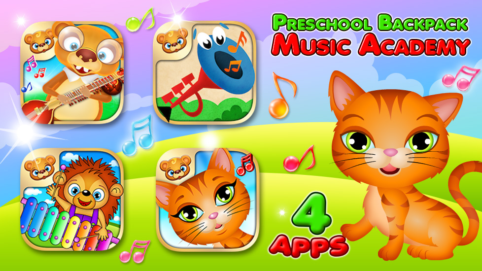 Preschool Backpack - Music Academy