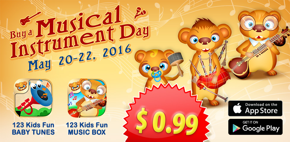 buy musical instrument day  promotion sale