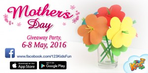 mother's day giveaway party promocodes apps for kids sale
