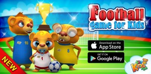 euro2016 footbal game for kids aps goals