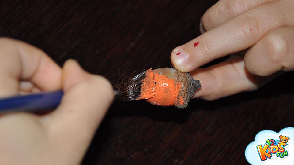 halloween acorns DIY