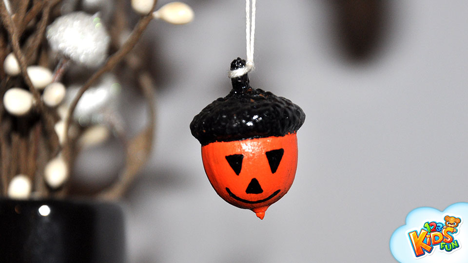 halloween decor DIY project easy for kids