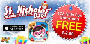 snowman sale st nicholas day