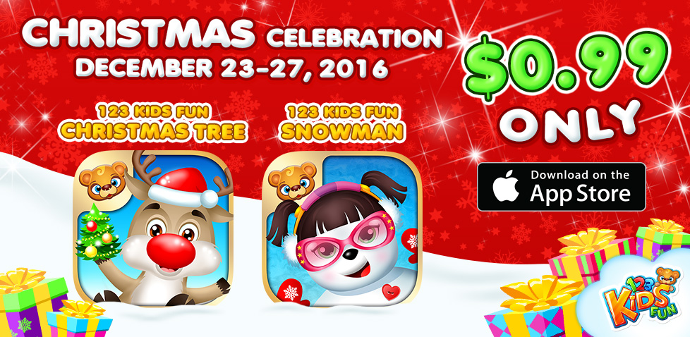 christmas sale winter apps for kids