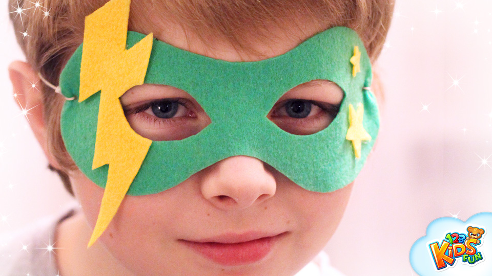CARNIVAL MASKS FOR KIDS