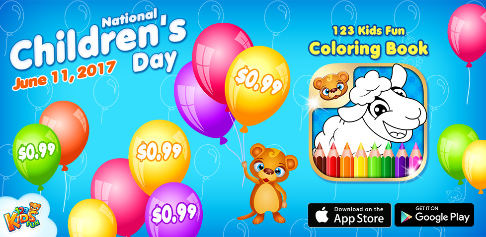 national childrens day sale