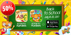 back to school sale apps for kids