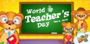 worlds teacher day