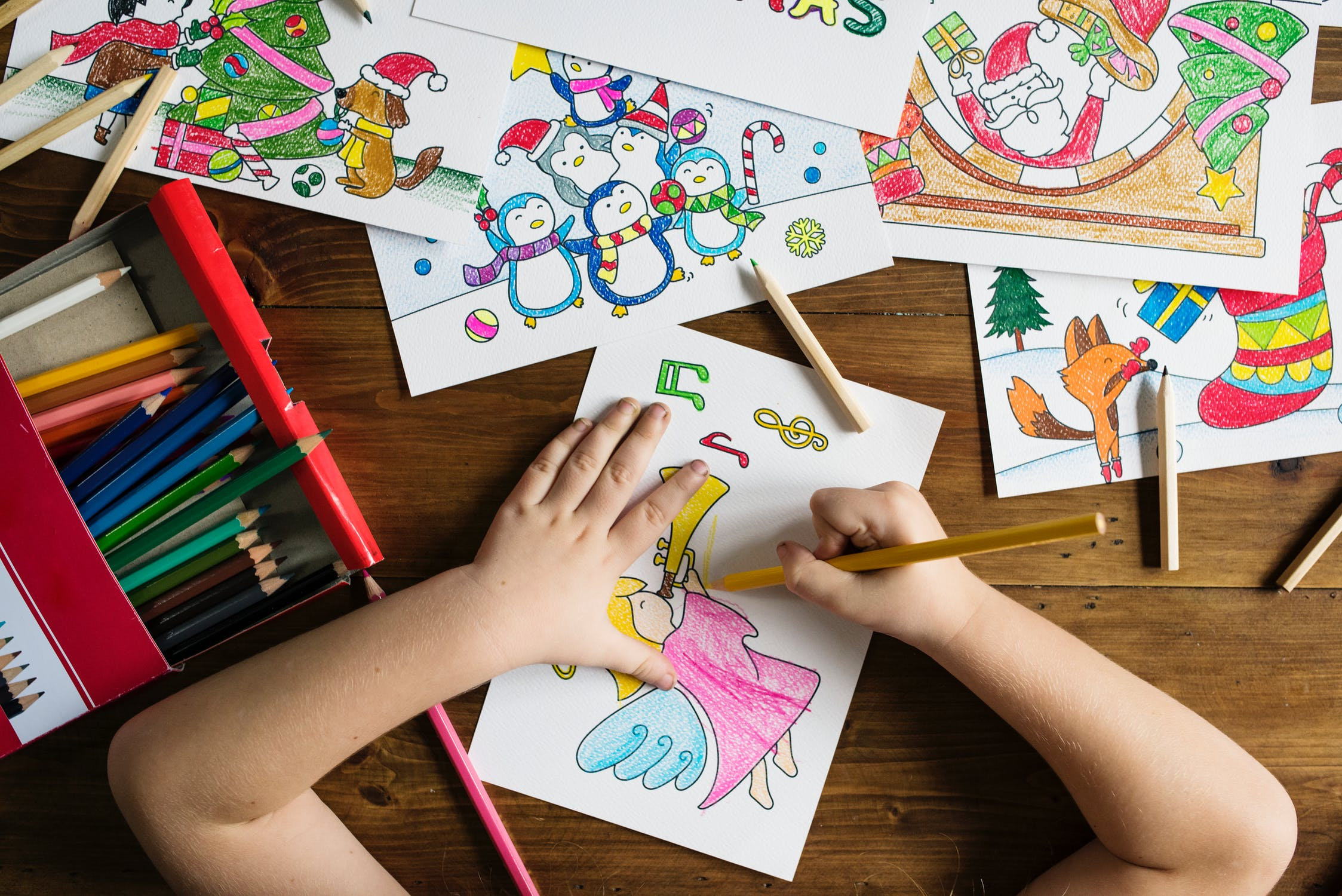 benefits of coloring for kids