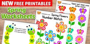 spring free extras printables