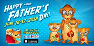 fathers day promotion peekaboo