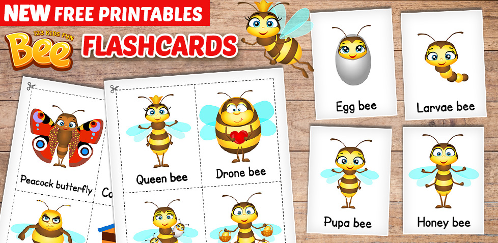 free bee extras for preschoolers