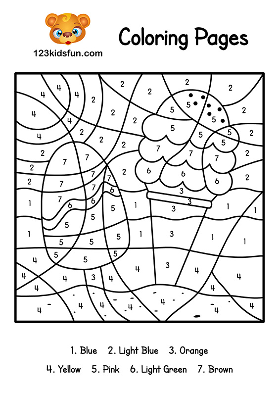 It is a picture of Summer Printable Coloring Pages for cute
