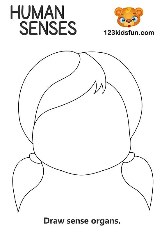 Human Body - 5 Senses Printables for Kids – Homeschooling