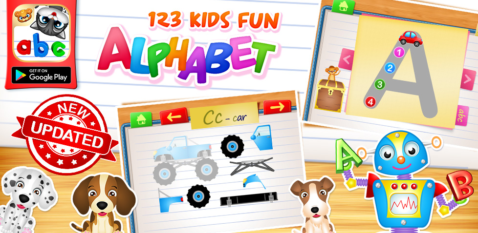 Alphabet Learning Games For Kids