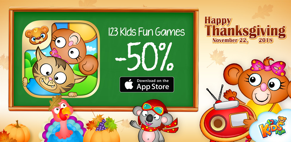 Games for kids 50% off