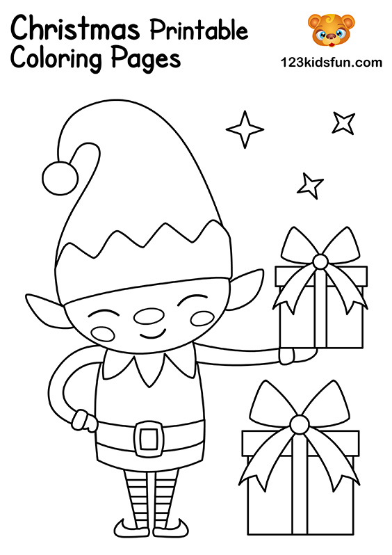 Free Christmas Printable | 123 Kids Fun Apps