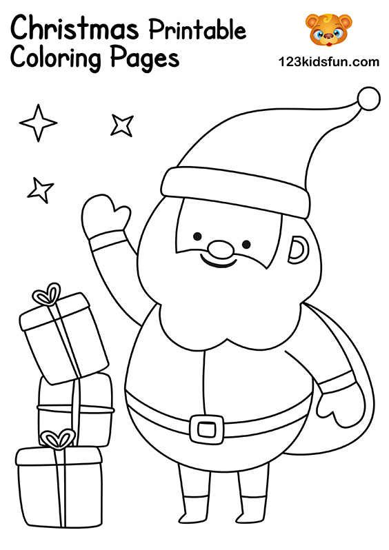 The Best Christmas Coloring Pages For Kids Printable