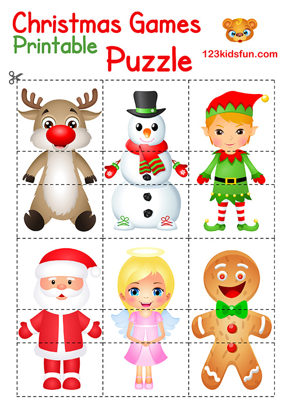 Printable Christmas Games