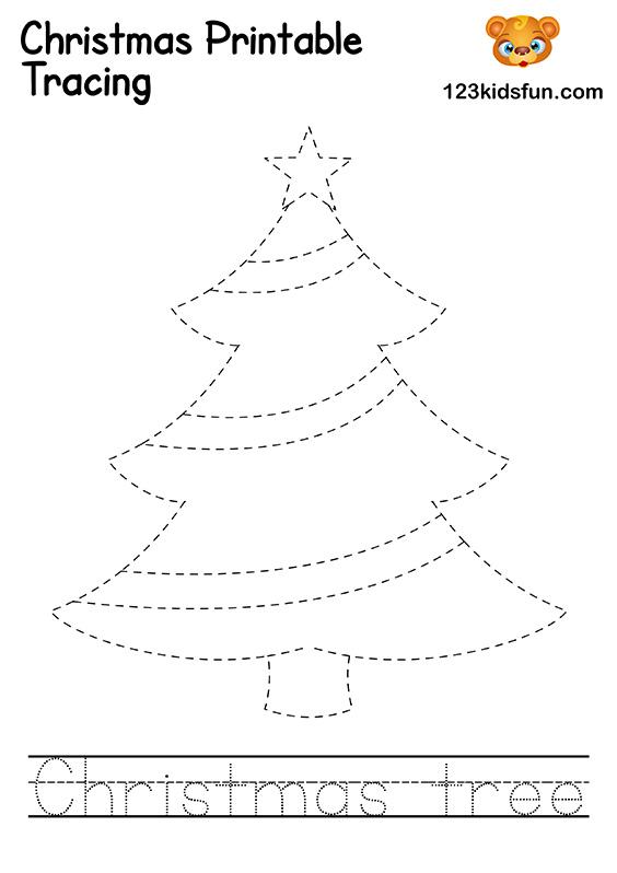 Christmas Tracing - Christmas Tree