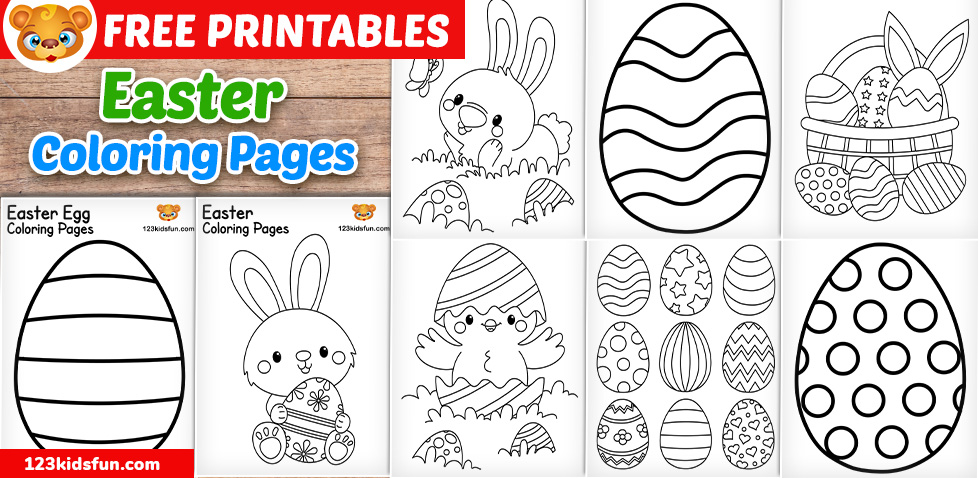 83 Best Easter Coloring Pages | Free Printable PDFs to Download | 478x978
