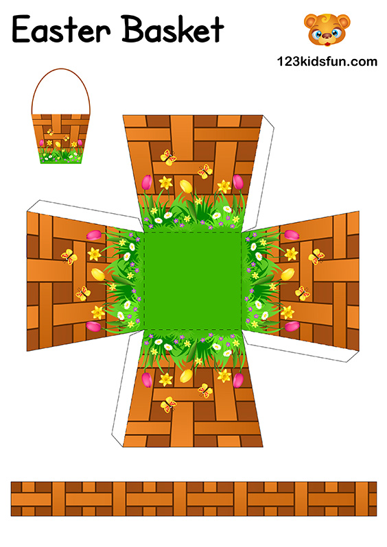 DIY Easter Craft for Kids - Easter Basket