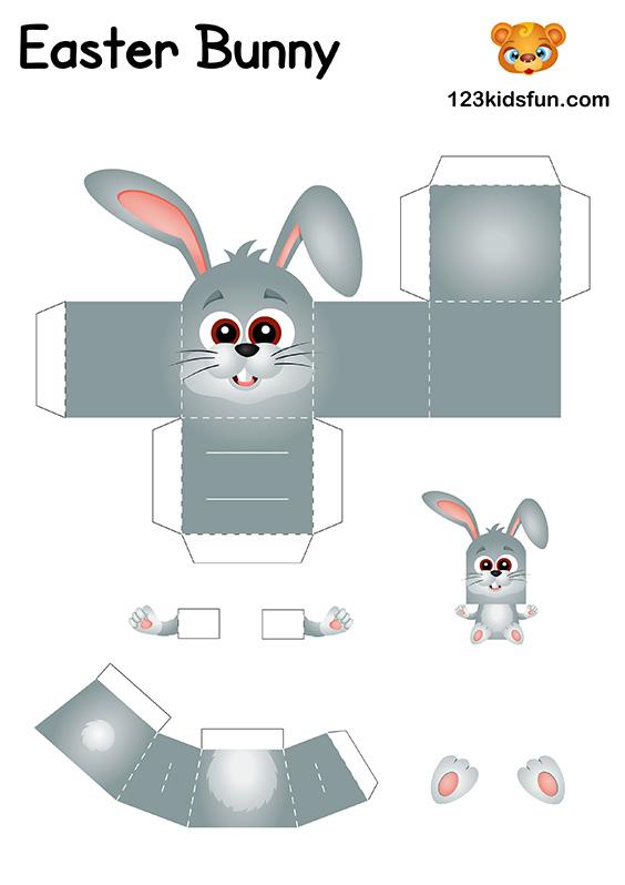 DIY Easter Craft for Kids - Easter Bunny