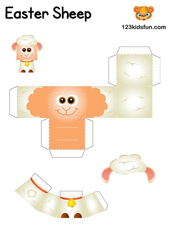 DIY Easter Craft for Kids - Easter Sheep