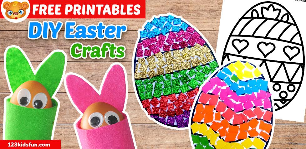 Creative Diy Easter Crafts 123 Kids Fun Apps