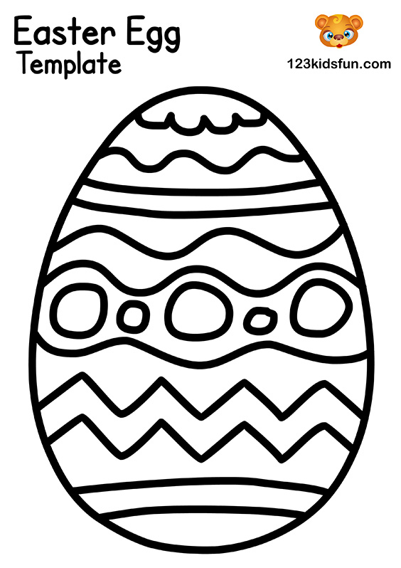 Easter Egg - Craft Template