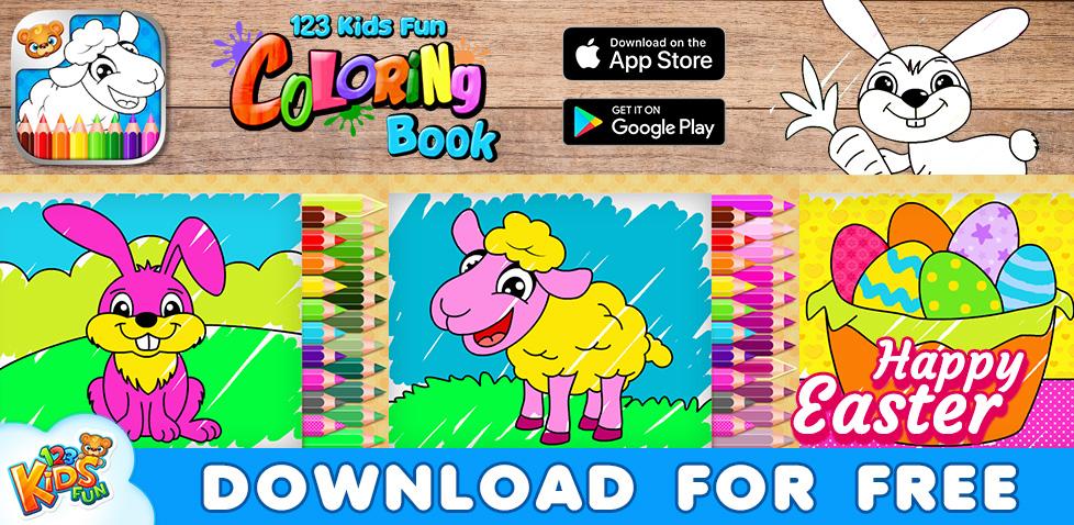 123 Kids Fun Coloring Book Free Game For Kids 123 Kids