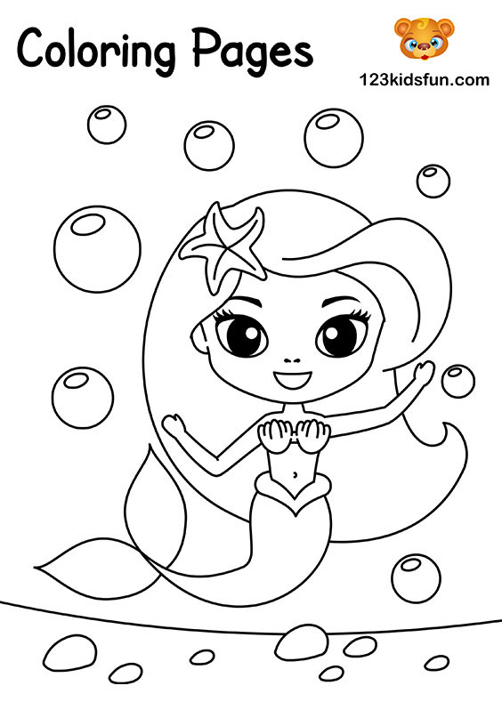 Free Coloring Pages for Girls and Boys | 123 Kids Fun Apps