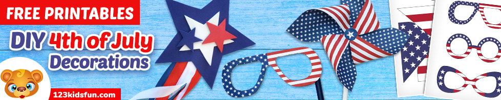 DIY 4th of July Patriotic Decorations