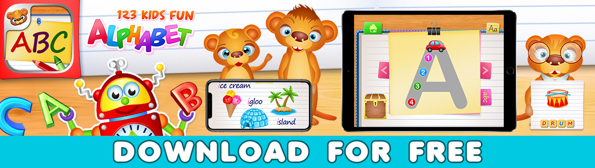 Learn Alphabet Games for Kids