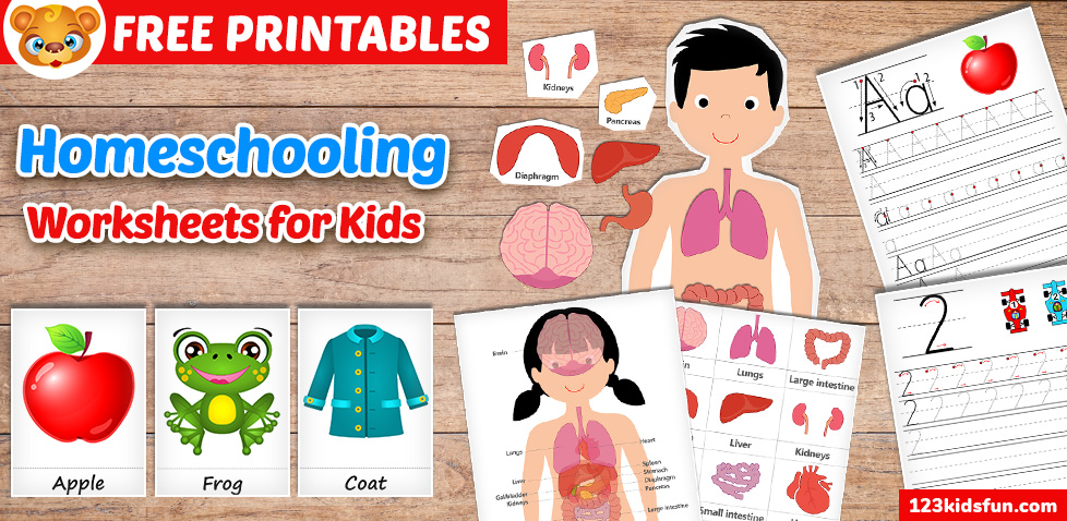 Homeschooling & Activities - Free Printables and Worksheets for Kids